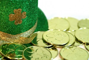 St. Patricks Day Hat and Money