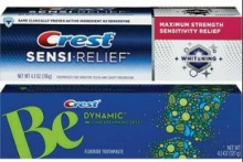 crest Be and Sensi Relief