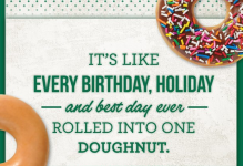 National Doughnut Day - Krispy Kreme