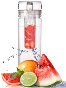 fruit infused water bottle