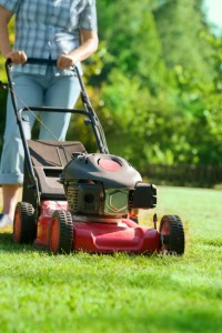 Mowing Lawn iStock