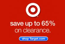 Target Email Newsletter