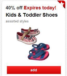 target kids shoes