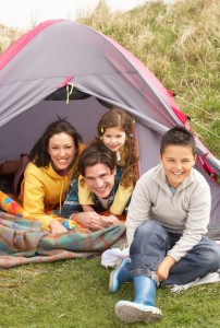 family camping iStock