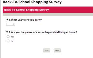 BTS Survey