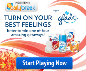 glade coupons daily break