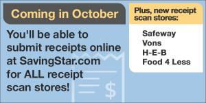 SavingStar Oct New Stores