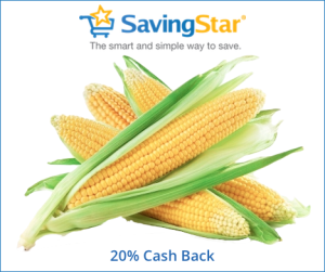 Save 20% on Fresh Corn + Great Changes to SavingStar Beginning Oct 1