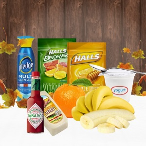 Cash Back on Bananas, Oranges, Yogurt & More