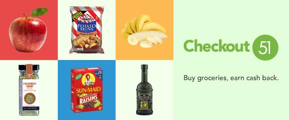 Get Cash Back on Bananas, Apples, Raisins & Much More