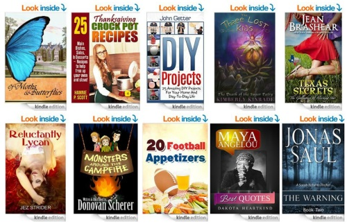 FREE Kindle e-Books (October 30)