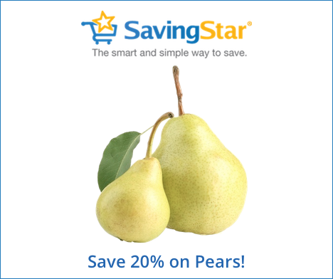 Save 20% on Fresh Pears