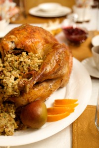 Turkey with stuffing iStock