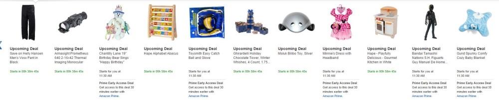 amazon lightning deals