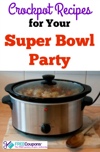 Crockpot Recipes for Your Super Bowl Party