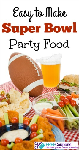Easy to Make Super Bowl Party Food