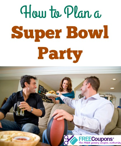 Will you be having a Super Bowl party this year? Here are some quick tips for planning it out.