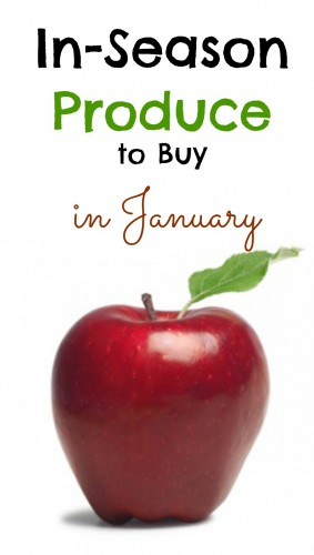 Look for the produce that is in season. It will be at the best price of the entire year! Here is what to shop for in January