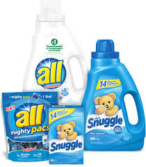 All Detergent & Snuggle Softener = Only $1.99