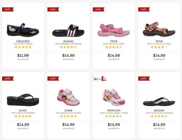 famous footwear kids
