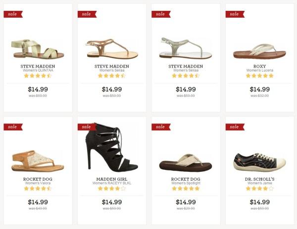 famous footweare womens