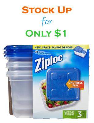ziploc containers