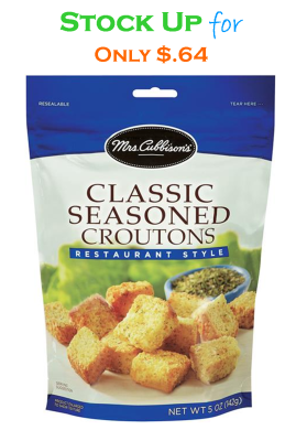 Mrs. Cubbison's Croutons for Only $.64