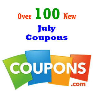 Over 100+ New July Coupons