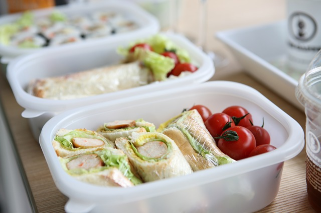 Want to make sure your kids are eating healthy lunches at school?  One option is to substitute healthy food for the junk food.