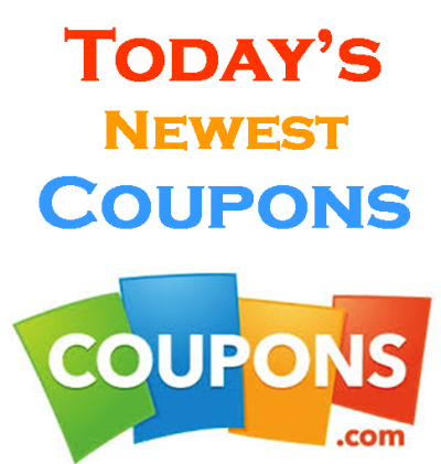 Today's Newest Coupons
