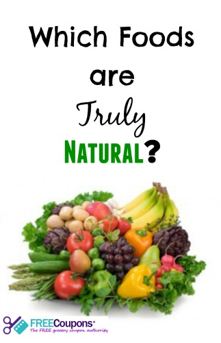 What Foods Are Really Natural