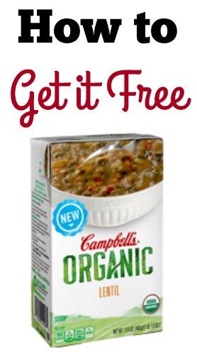 campbell's organic