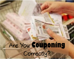 Coupons are great, but that doesn't mean they are always going to be your best choice for saving money.  You might be couponing incorrectly.