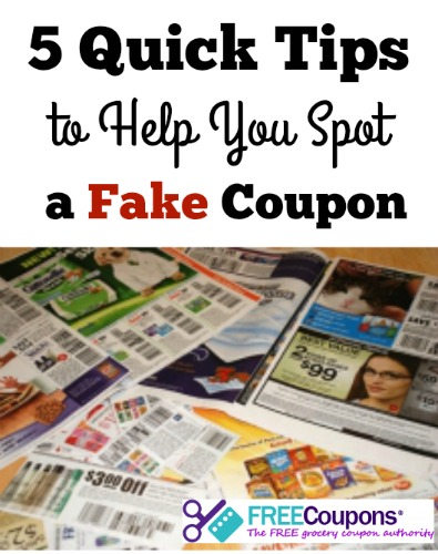 5 Quick Tips to Help You Spot a Fake Coupon