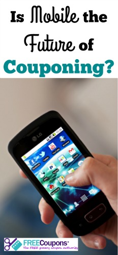 Mobile is the Future of Couponing