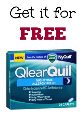 FREE Vicks QlearQuil at Dollar Tree