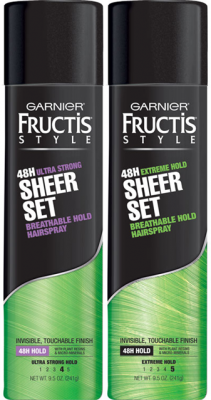 Find out how to get free Garnier Fructis hairspray this week at CVS!