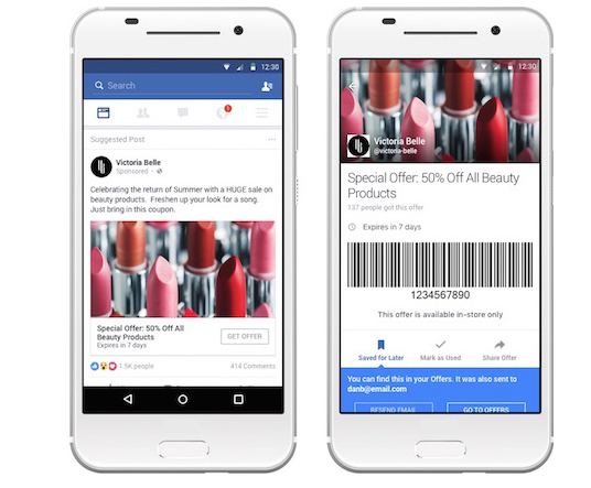Facebook New and Improved Offers Might Include Coupons