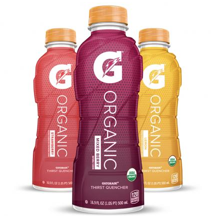PepsiCo Introduces Organic Gatorade