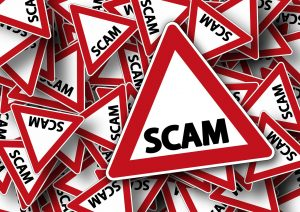 Scam sign from Pixabay